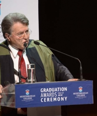 GRADUATION ATHENS-HONORARY PRESIDENT